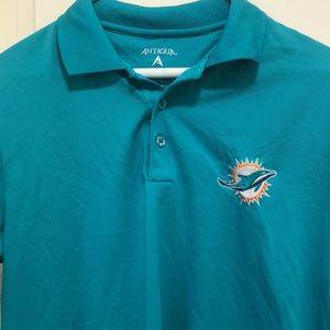 Antigua Shirts - Miami Dolphins polo